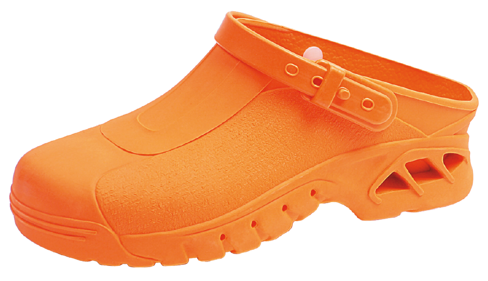 Abeba ESD-Sicherheits-Clogs orange, Gr. 35/36, Paar - Art. Nr. 20013
