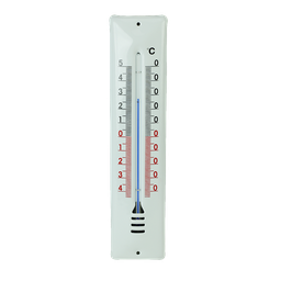 [25428] Email-Aussenthermometer weiss, 220 x 48 mm - Art. Nr. 25428