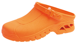 [20017] Abeba ESD-Sicherheits-Clogs orange, Gr. 43/44, Paar - Art. Nr. 20017